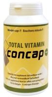 Concap Total Vitamin - 120 capsules