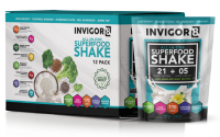 BRL INVIGOR8 Superfood Shake - Vanilla - 43 grams (12 pack)