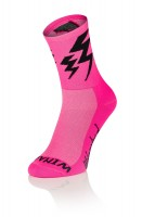 Lightning Socks - Fluo Pink