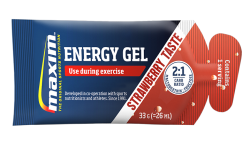 Maxim Energy Gel - Strawberry - 25 x 33 gram
