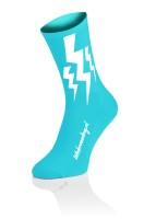 Lightning Socks - Fluo Blue