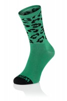 Winaar CX CAT Green Cycling Socks