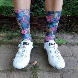 Winaar Flowers Cycling Socks