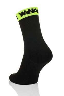 Winaar Black Fluo Cycling Socks