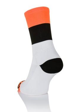 Winaar Orange Cycling Socks