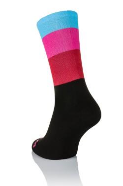 Winaar Pink Cycling Socks
