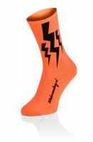 Lightning Socks - Fluo Orange